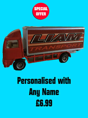 Choose a name Lorry Personalised Name Toy Truck