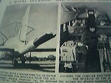 magazine picture 1956 dakota hunting geophysics ltd magnetometer