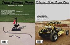 2 SEAT DUNE BUGGY SANDRAIL & TUBE BENDER PLANS ON C.D