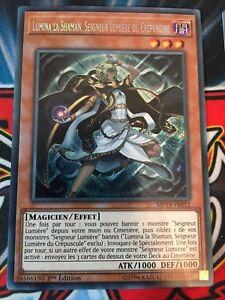 Yu-Gi-Oh-MP18-FR052Lumina-La-Shaman-Seigneur-Lumiere-Du-Crepuscule-Secret-Rare