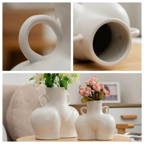 Handicraft Human Body Nude Abstract Art Ornaments Flower Vase Home Decoration
