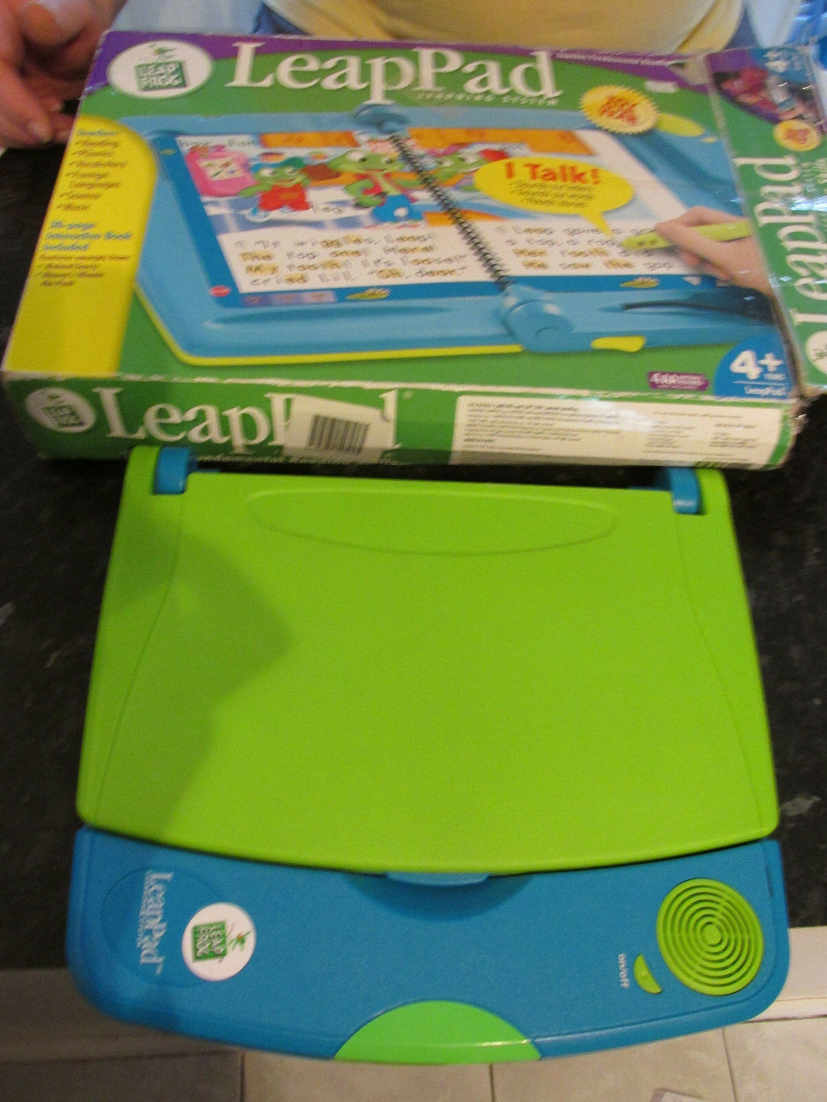 LEAPFROG LEAP PAD LEARNING SYSTEM AGE 4+ SCOOBY DOO SPIDERMAN TIGGER THOMAS TANK