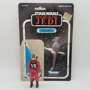 Vintage-1984-Star-Wars-B-Wing-Pilot-Kenner-Return-of-the-Jedi-with-Cardback