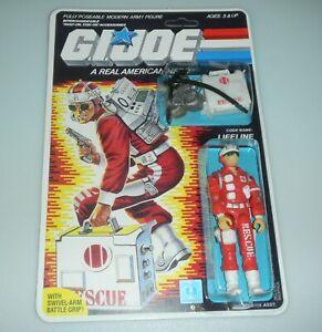 *RECARDED* 1986 GI Joe Lifeline Figure Complete Sealed *CUSTOM File Card Back*