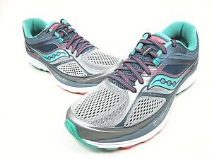 90b4c6a102 Details about SAUCONY GUIDE 10 RUNNING SHOE WOMEN'S GREY/ TEAL S10350-5  MEDIUM NEW
