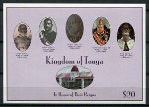 Tonga-2012-Koenige-und-Koenigin-King-Queen-Postfrisch-MNH