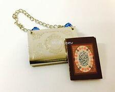 #6 Car Hanging Mini Quran Selected Surah Islamic Gift Metal Muslim Prayer