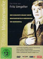 DVD-BOX NEU/OVP - Edition Meisterwerke - Die Filme von Fritz Umgelter - 3 Filme