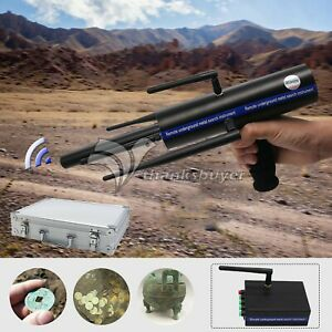 AKS-Long-Range-Gold-Metal-Detector-Gems-Diamond-Finder-6-Antennas-carry-case