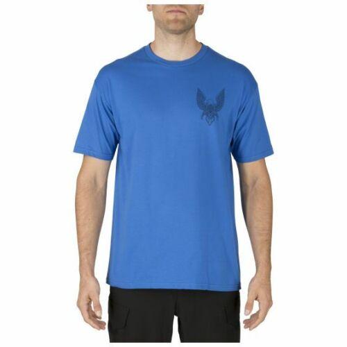 5.11 Tactical EAGLE ROCK T-Shirt  Royal Blue  NEW