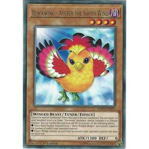 Yu-gi-oh Blackwing - Auster The South Wind - Led3-en025 - Rare - 1st Edition 3lk1bh6u-08005207-802175299