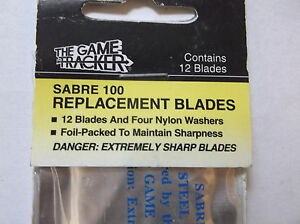 the game tracker sabre 100 replacement blades ebay