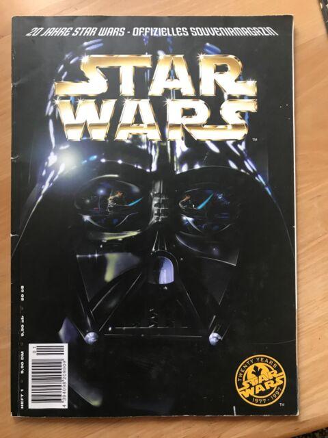 20 Jahre Star Wars Offizielles Souvenirmagazin 1977-1997 Heft Nr. 1