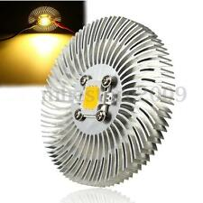 90x10mm 10W High Power LED Light Cooling Cooler Aluminum Heatsink Warm White DIY