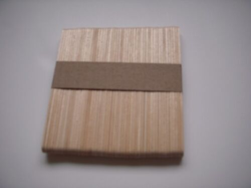 Natural De madera palillo del LOLLIPOP X 50-Artesanía 2nd Post creación de modelos pintura de mezcla
