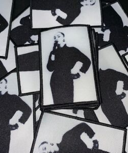 Details about Sade Patch - black and white - lovers rock - sweetest taboo -  soul r&b music Sew