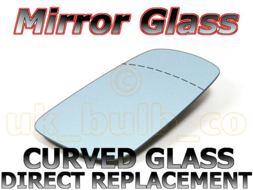 NEW Mirror Glass WIDE ANGLE VOLVO V40 Driver 96-/>