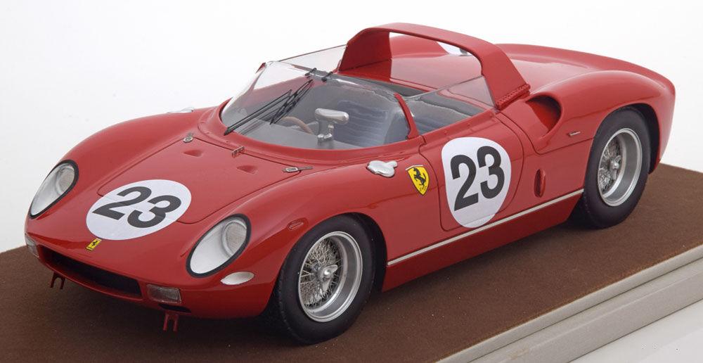 Tecnomodel Ferrari 250P 24h Le Mans 1963 Surtees Mairesse  18 Escala Le 100