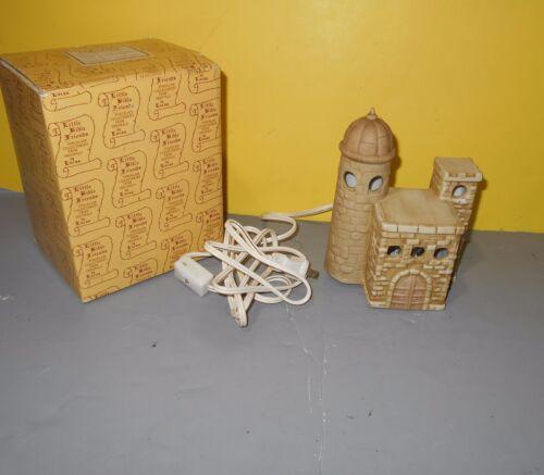 Details about  /ENESCO Little Bible Friends by Lucas Nativity Theme Bible Chruch Nite Lite E2436