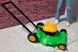 Lawn-Mower-1-10-Scale-Shop-Garage-Rock-Crawler-Doll-House-Accessories-USA