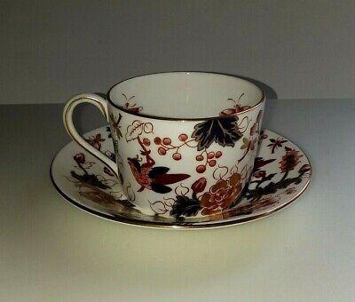 Vintage Coalport Hong Kong Flat Cup /& Saucer