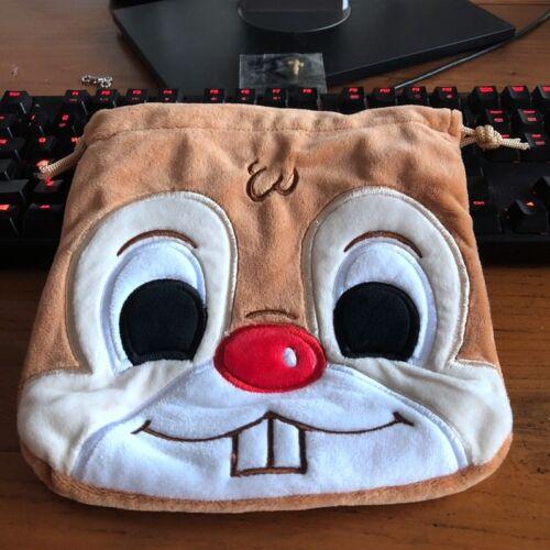 cute brown squirrel handbag drawstring POUCH bag makeup bags phone anime
