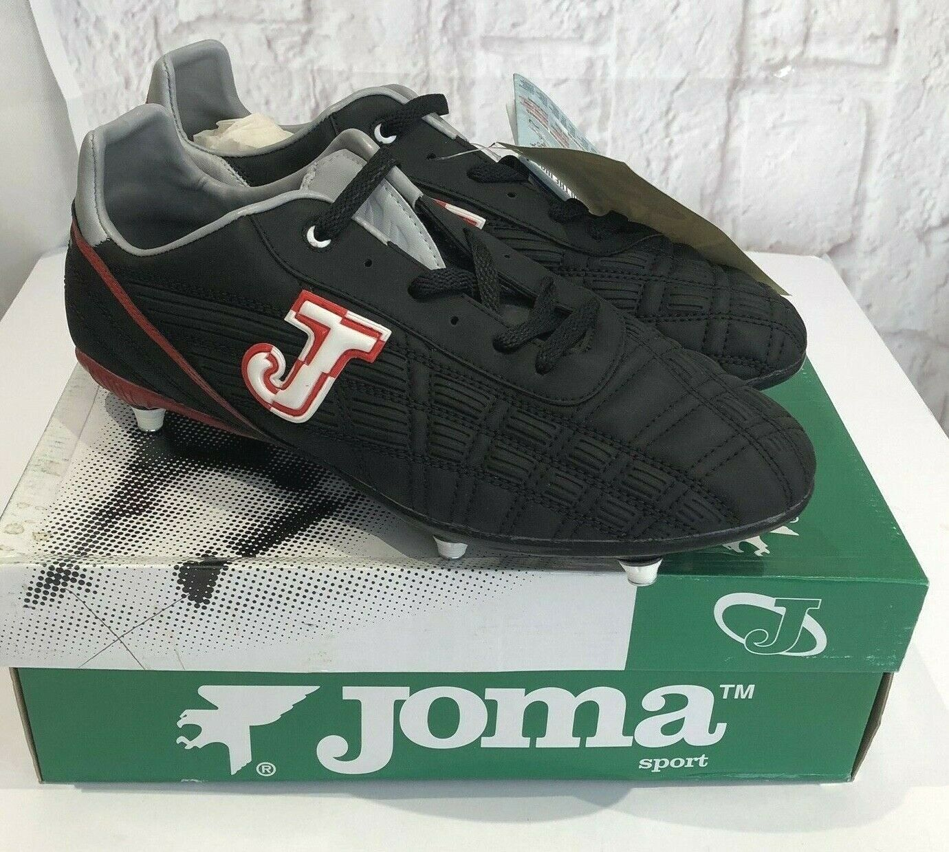 Joma Portillo Recambio Football Soccer Boots Size US 11.5 NEW