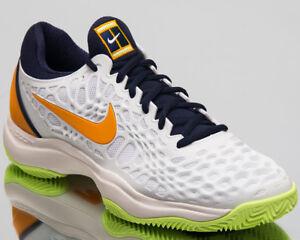Zoom Nike Chaussures Orange Sur Air Argile 3 Blanc Peel Cage De Détails Tennis Baskets n0PkwNOX8Z