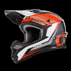 ONeal 1 Series Motocross Helmet in Stream Black Orange - ONeal Motocross Enduro
