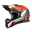 thumbnail 1 - ONeal 1 Series Motocross Helmet in Stream Black Orange - ONeal Motocross Enduro