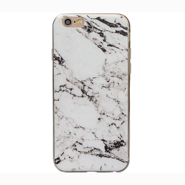 Marble Granite Design Soft Case Cover For Apple iPhone 5 5S 5C 5SE 6 6S 7 Plus