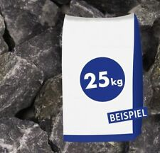 (0,41€/1kg) 25kg Sack Basaltbruch anthrazit 40-70mm Gabionen Steine Bruchstein G
