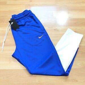Details about Nike NSW Swoosh Jogger Royal Blue Pink Size L Men Track Pants  Taper BV5289 481