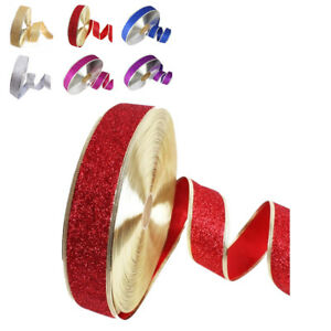 5 Color Christmas Decorations Ribbons 200 * 5CM Xmas Gift boxed packaging ribbon