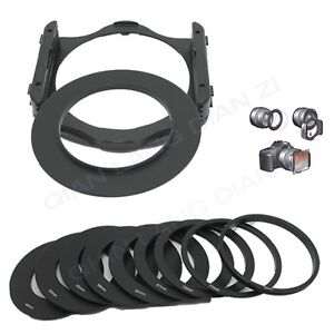 49-52-55-58-62-67-72-77-82mm-Ring-9pc-Ring-Adapter-Filter-Holder-set-for-Cokin-P