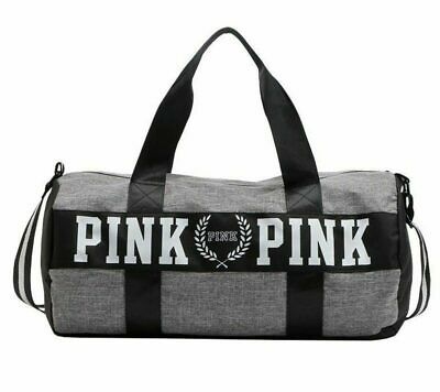 Pink Duffel Bag Men and Women's Sports Bag For Fitness, Outdoor and Travel  Bag | eBay