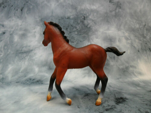 #88586 Model Replica Figurine Filly CollectA NIP Quarter Horse Foal Bay