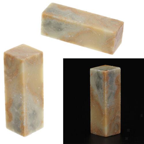 3 Stücke DIY Handgefertigte Chinesische Stein Hacken Stempel Material