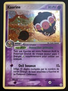 Carte-Pokemon-KAORINE-2-101-Holo-Legendes-Oubliees-Bloc-EX-FR-Proche-NEUF