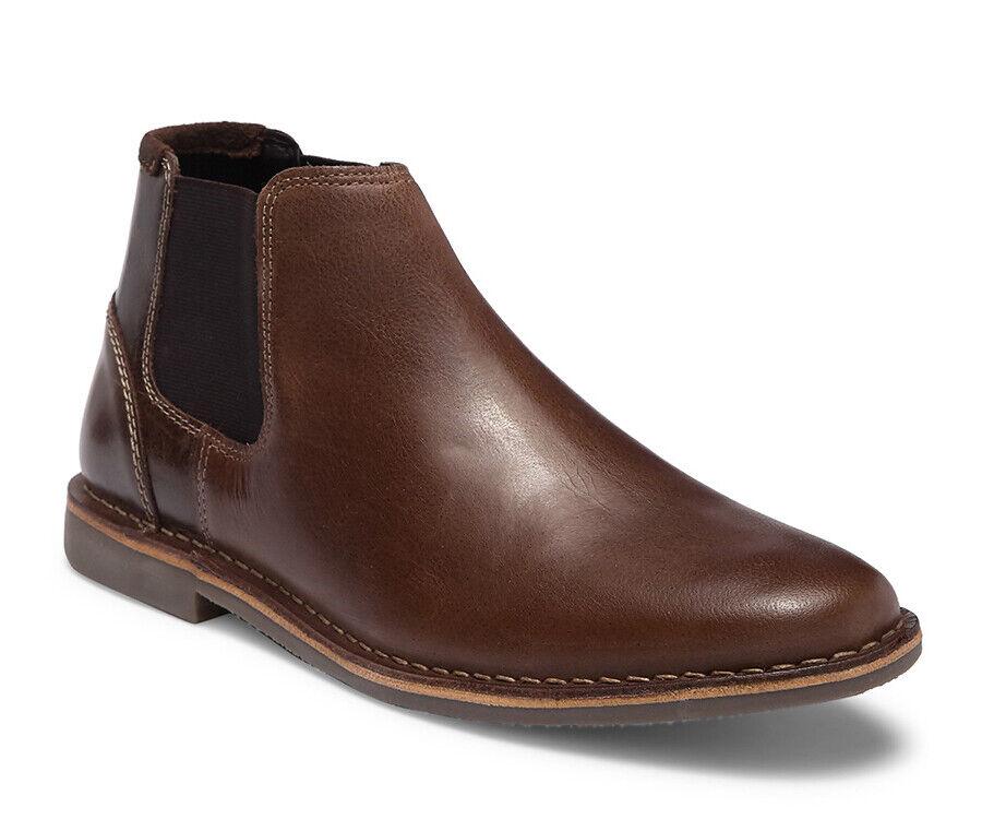 NEW - Steve Madden IMPASS Men Leather Boots Sz. 9 - 10 - 11   (MSRP )