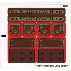Lego Genuine Sticker Set 79108 Stagecoach Escape