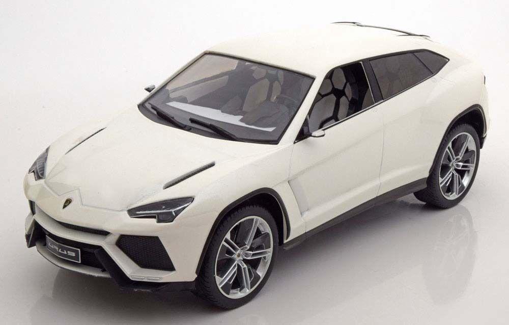 Mcg 2012 Lamborghini Urus Couleur Blanche 1 18  Échelle Nouvelle Version  juste l'acheter
