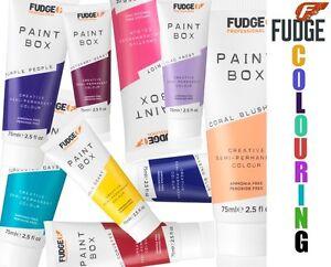 Image Is Loading Official Fudge Paintbox Semi Permanent Hair Color Colour
