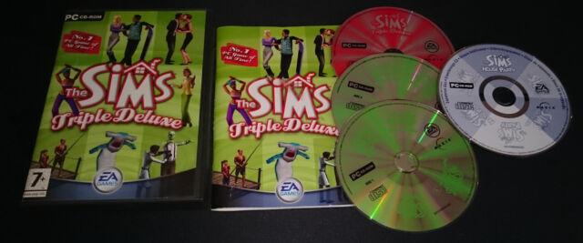 THE SIMS TRIPLE DELUXE GIOCO PER PC