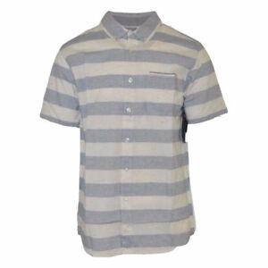 Rip-Curl-Men-039-s-Stripe-S-S-Woven-Shirt-Retail-55