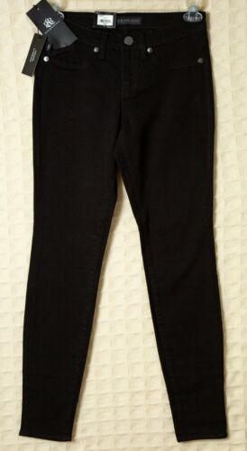 ROCK /& REPUBLIC Black JEANS Leggings Onyx STRETCH Women/'s Skinny Slim Pants Lyrd