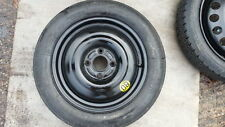 """GENIUINE FORD FIESTA MK7 MK8 2008-2018 SPACE SAVER 15"""" SPARE WHEEL AND TYRE F&F"""