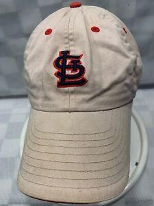 St-Louis-CARDINALS-New-Era-Khaki-Adjustable-Adult-Baseball-Ball-Cap-Hat