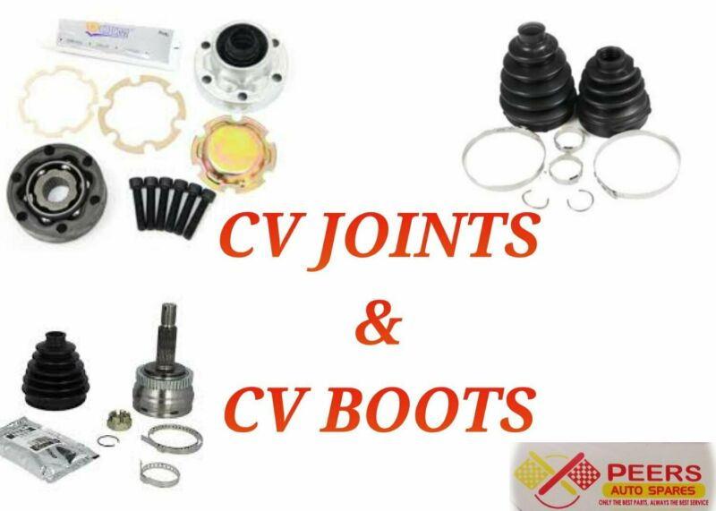 CV JOINT AND CV BOOT FOR MOST VEHICLES