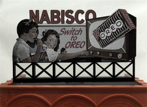 Miller/'s Nabisco Animated Neon Billboard Sign #88-1751